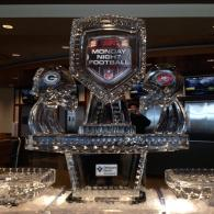 Major League Football Ice Sculpture