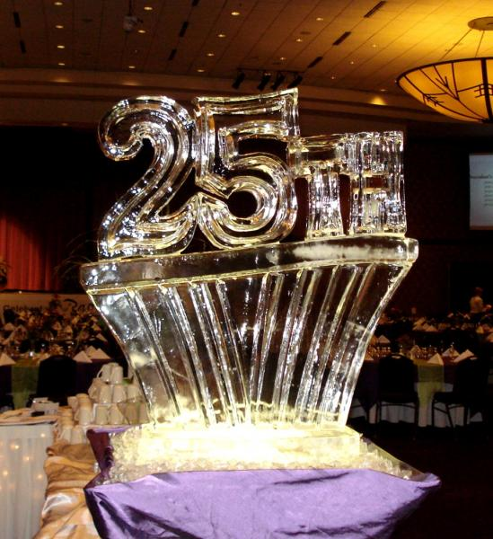 [Image: Celebrate your anniversary with the help of Krystal Kleer Ice Sculptures, LLC. Let us help make your night one to remember. ]