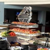 Seafood/Sushi Station with High Cliff Catering for Bergstrom Automotive