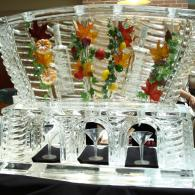 This Fall Themed Ice Luge was custom built and is one our longest lasting ice designs.