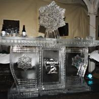 Winterfest would not be complete without a custom ice bar from Krystal Kleer Ice Sculptures, LLC.