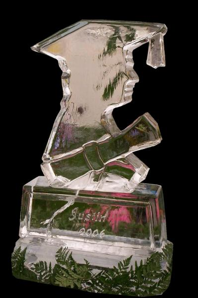 Celebrate graduation with an ice sculpture from Krystal Kleer Ice Sculptures, LLC. Contact us today to learn more, (920) 470-9491!