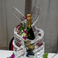 Ice Sculpture Drink Holder