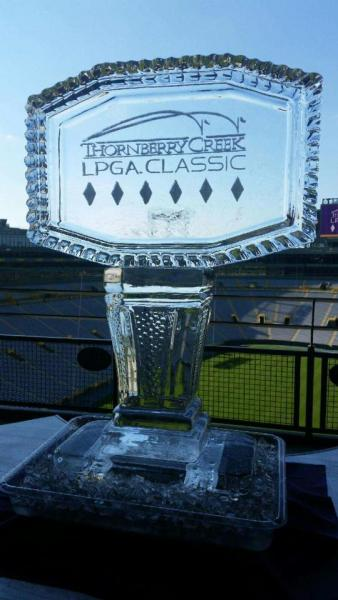 Women's Major League Golf Ice Sculpture