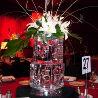 Ice Sculpture Table Centerpieces