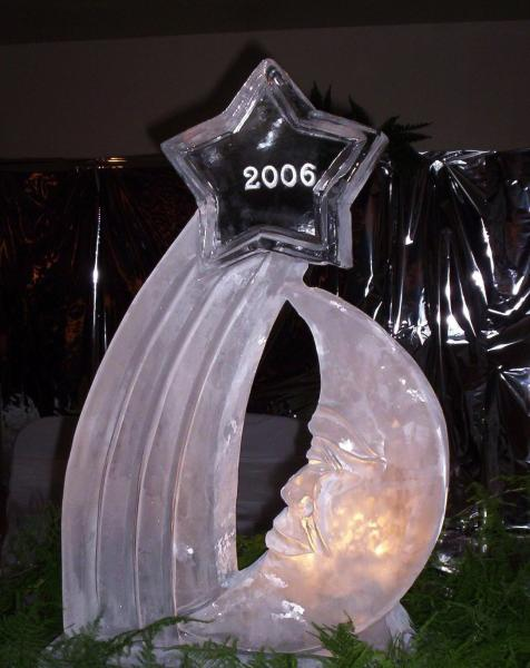 Whether it is a new year celebration, class reunion, or prom.. Paul Salmon, owner of Krystal Kleer Ice Sculptures, LLC, will design the perfect ice sculpture with details to match your special night.
