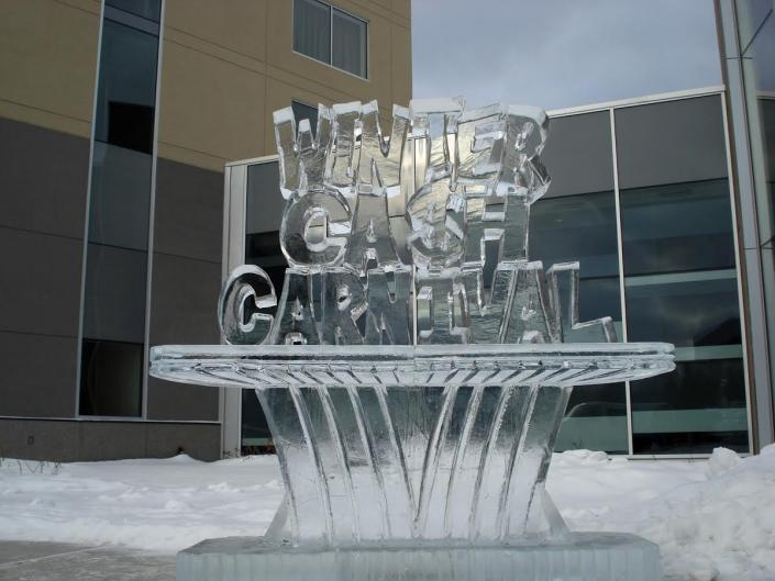 What better way to celebrate a winter festival than with a custom ice sculpture from Krystal Kleer Ice Sculptures, LLC?